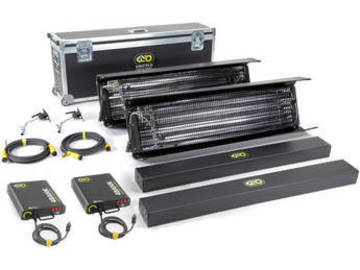 Rent: Kino Flo Gaffer 4' 4Bank, 2-Light Kit (120U)