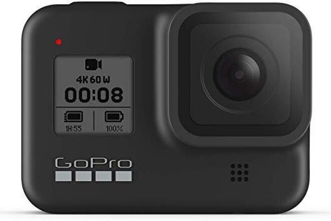 GoPro HERO8 Black + Dual Charger + Accessories