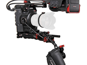 Rent: Canon C300 Mark II body EF mount w/Zacuto C300 Z-  finder