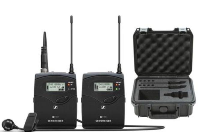 Sennheiser EW 112P G4 Portable Wireless Lavalier kit