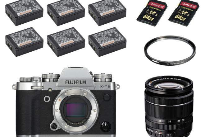 Fujifilm X-T3 KIT with 18-55mm f/2.8-4 OIS Lens (Fuji)