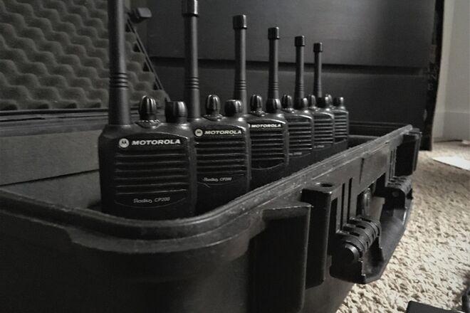 Motorola CP200 Walkies Kit (x8)