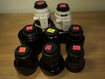 Rent: Canon L Lens Package + Sigma art lens