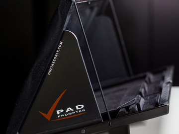 Rent: Onetakeonly Pad Prompter for 15mm Rigs - Tablet TelePrompter