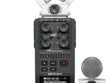 Rent: Zoom H6 Portable Audio Recorder