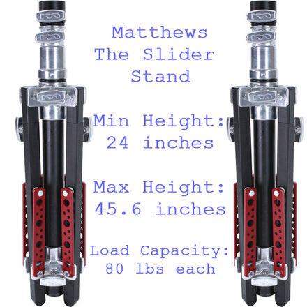 Matthews The Slider Stand (Qty. 2 / Pair) (Manhattan)