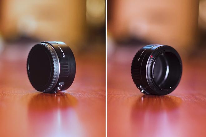Canon EF Mount to Nikon Z Manual Focus Lens Adapter