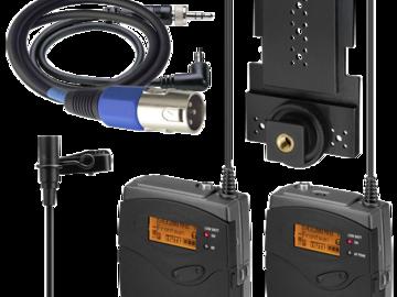Rent: Sennheiser G3 Wireless Lavier Frequency Channel G