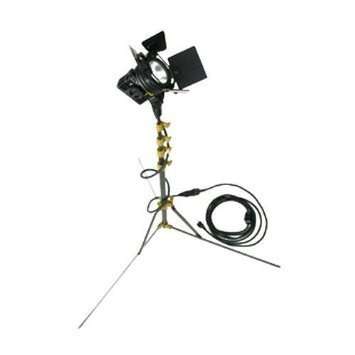 3 Lowell Tungsten Balanced Lights With Stands + Accessories