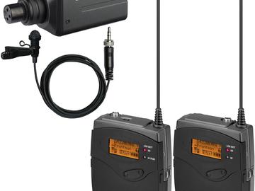 Rent: Sennheiser G3 Wireless Lav Frequency B w/ SKP