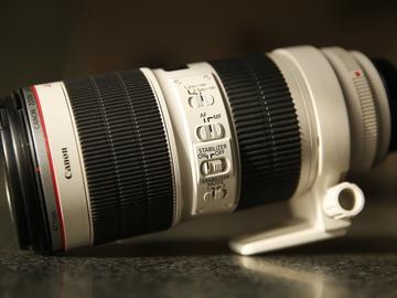 Rent: Canon 70 - 200 mm 2.8 L-Series MII