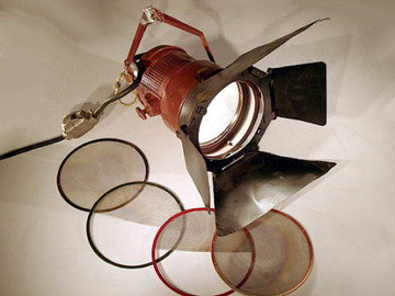 Rent: Mole-Richardson Mickey-Mole 1000 Watt Focusing Flood Light