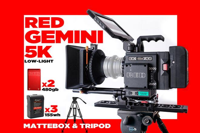 RED GEMINI 5K .................  (not epic-w dragon 6k 8k )