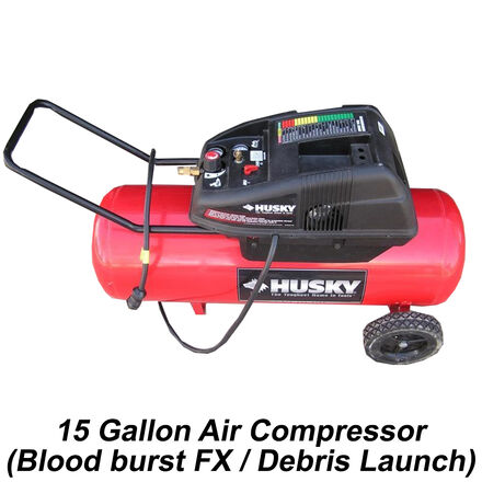 15 Gallon Air Compressor for (Blood Burst FX)
