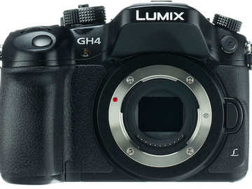 Rent: Panasonic - Lumix GH4 Mirrorless Camera