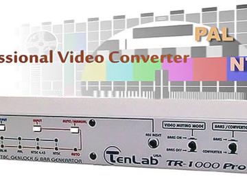 Rent: Color System Converter TENLAB TR-1000PRO ProcAmp  TBC