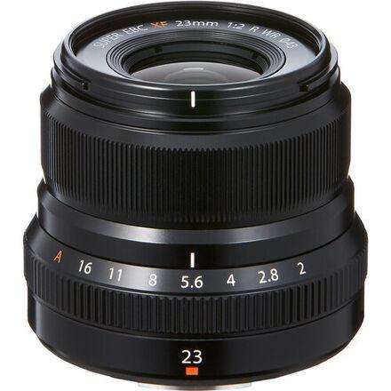 Fuji X 23mm F/2 R WR Black
