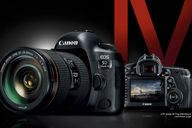 Canon 5D Mark IV Camera w/ choice of  x1 Lens