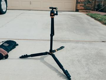 Rent: Professional Portable Camera Tripod