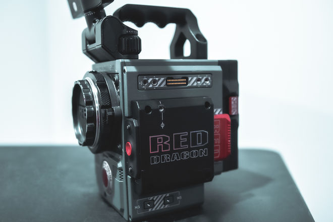 RED Scarlet-W Dragon 5K with EF mount