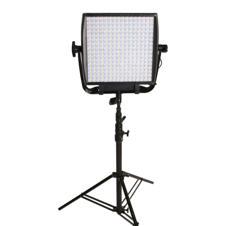 ASTRA 1X1 EP Bi Color LED Panel with V-mount Battery Plate