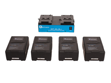 4 Switronix XPL90S V-mount Batteries