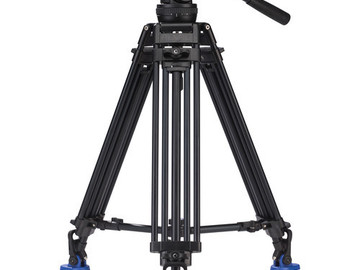 Rent: Benro BV10 Twin Leg Aluminum Tripod Kit