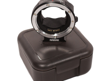 Rent: Metabones Canon EF - Sony E mount Adapter