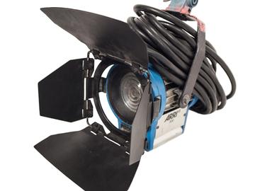Rent: ARRI 300w Tungsten Fresnel