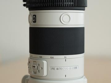 Rent: Sony FE 70-200 F4 Auto-Focus Lens