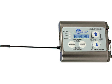 Rent: Lectrosonics Watertight Wireless Transmitter - Blck 20 (1/3)
