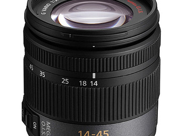 Rent: Panasonic Lumix 14-45mm f/3.5-5.6 ASPH/MEGA O.I.S.