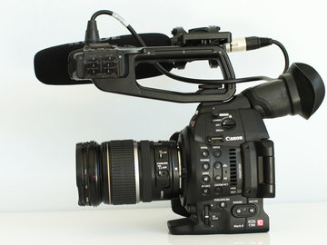 Rent: Canon c100 mk2 Compact Doco Kit