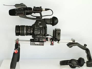 Rent: Canon c100 mk2 Full Sound Doco Kit