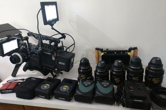 RED Ranger Gemini Full package Cooke Mini S4i lens kit