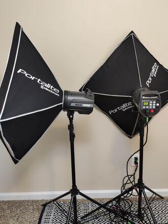 Elinchrom BRX 500 Dual Monolight Kit - Wireless Flash