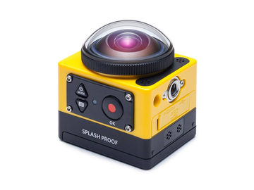 Rent: Pixpro 360 modified for IR (night vision)