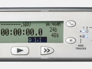 Rent: Sound devices 702 + sennheiser mkh 416 + rode blimp + k tek