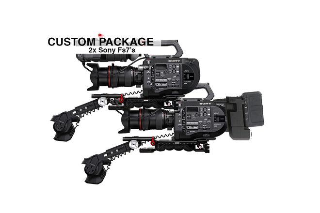 2x Sony PXW-FS7 XDCAM (4K) Complete Package
