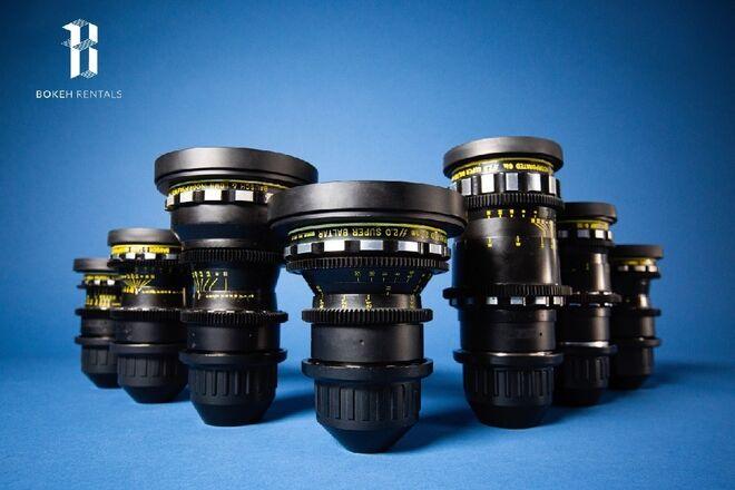 Bausch & Lomb Super Baltars 7 Lens Set