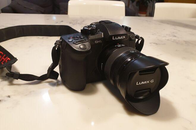 Panasonic Lumix DC-GH5 Digital Camera with 12-35mm kit lens