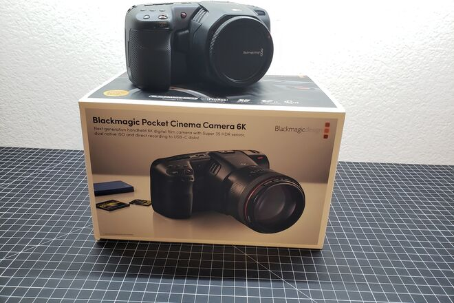 For Sale Blackmagic Design Pocket Cinema Camera 6k Extras Sharegrid