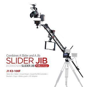 Konova K3 motorized tilt pan head + slider + jib+libec legs