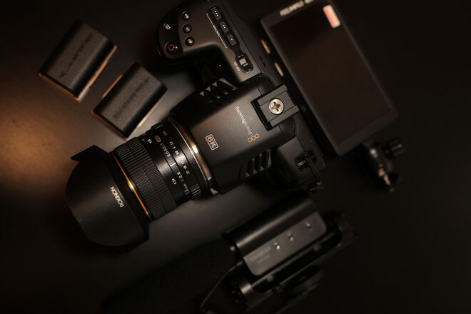 BMPCC 6K with 14mm Rokinon Lens
