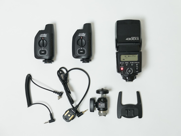 Rent: Canon 430 EX II Flash package w/ triggers