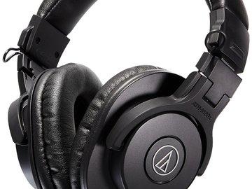 Rent: Professional Studio Monitor Headphones