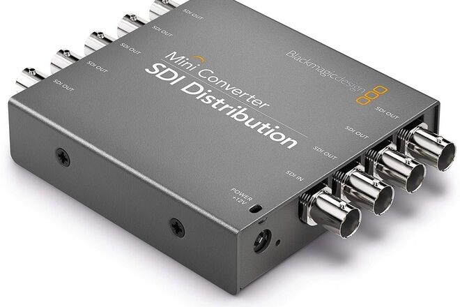 2x Blackmagic Design Mini Converter SDI Distribution