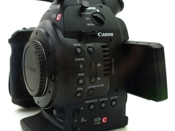 Rent: Canon C100 Mark 1 w/ AF Support + ATOMOS Recorder