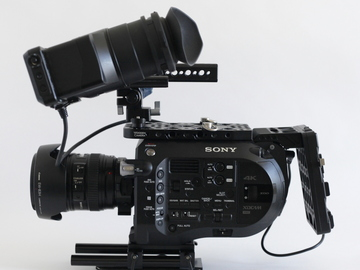 Rent: Sony PXW-FS7 w/ Canon Lens Kit, 24-105mm f4 & 70-200m f2.8