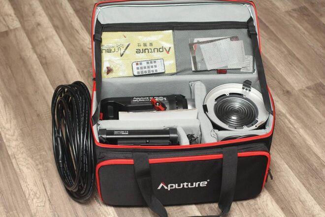 """Aputure Light Storm LS C120t LED Light + Light Dome 34.8"""""""